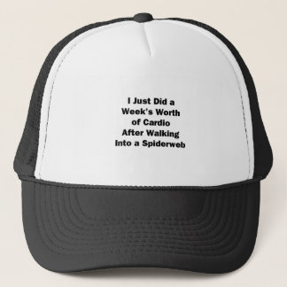 Week's Worth of Cardio Trucker Hat