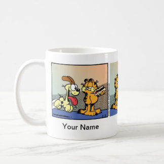 """Weenie of Life"" Garfield Comic Strip Coffee Mug"