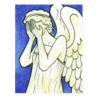 Weeping Angels Postcard