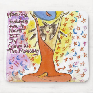 Weeping Endures for a Night Mouse Pad