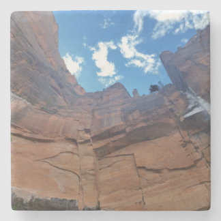 Weeping Rock   Zion National Park Stone Coaster