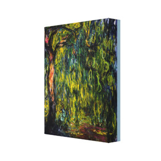 Weeping Willow by Claude Monet Canvas Print