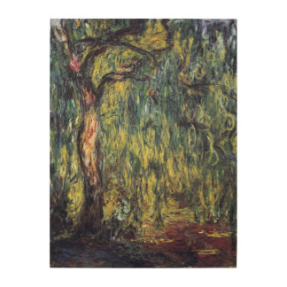 Weeping Willow by Claude Monet, Vintage Fine Art