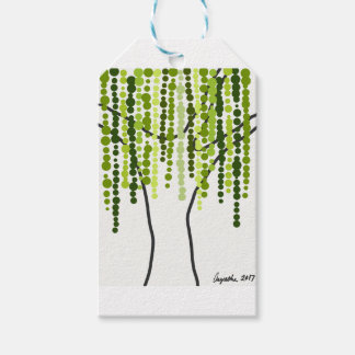 weeping willow gift tags