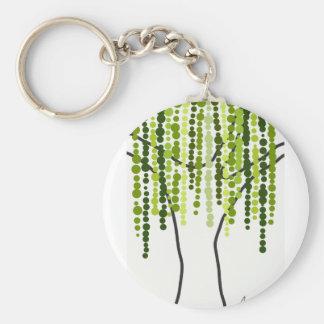 weeping willow key ring