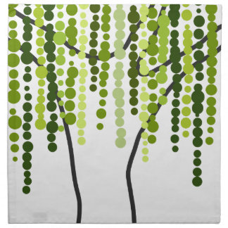 weeping willow napkin