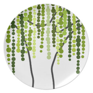 weeping willow plate