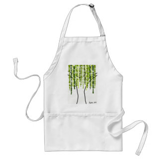 weeping willow standard apron
