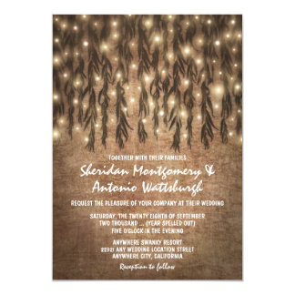 Weeping Willow Tree Vintage Wedding Invitations