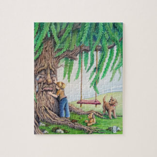 Weepy Willow Jigsaw Puzzle