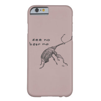 Weevil Joke iPhone/iPad/Samsung/Motorolla feat. Barely There iPhone 6 Case