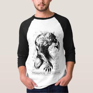 Wehrwölfe 3/4 Sleeve Jersey T-Shirt