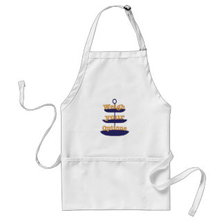 Weigh Your Options Aprons