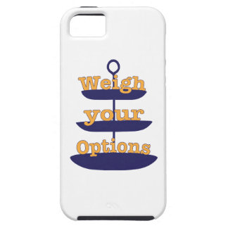Weigh Your Options iPhone 5/5S Cases