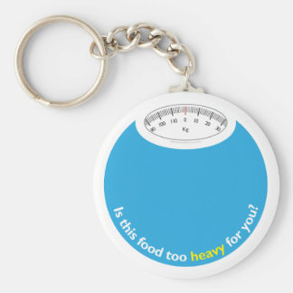 Weight & Health Conscious Key Chain