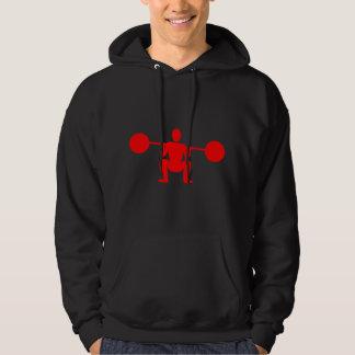 Weight Lifter 01 - Red Sweatshirt