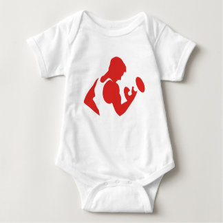 Weight Lifting Baby Bodysuit