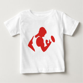 Weight Lifting Baby T-Shirt