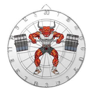 weight lifting bull 2 dartboard