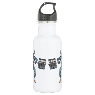 weight lifting bull 3 532 ml water bottle