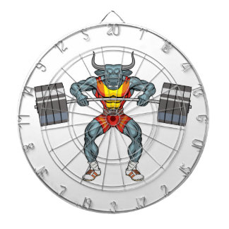 weight lifting bull 3 dartboard