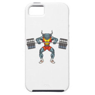 weight lifting bull 3 iPhone 5 cases