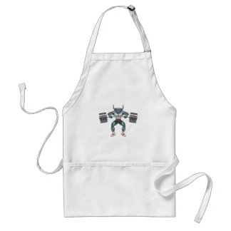 weight lifting bull standard apron