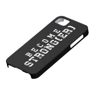 Weight Lifting Inspiration - Become Stronger - Gym Case For The iPhone 5