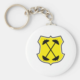 weight lifting key chains
