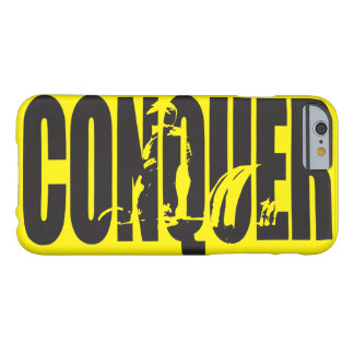 Weight Lifting Motivation - CONQUER Barely There iPhone 6 Case