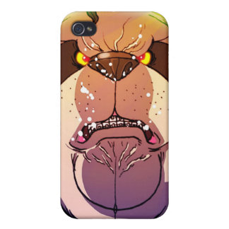Weight lifting Panda Power iPhone 4/4S Cover