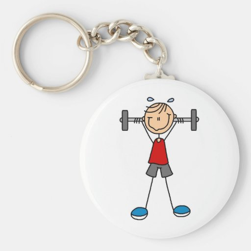 Weight Lifting Tshirts and Gifts Keychains