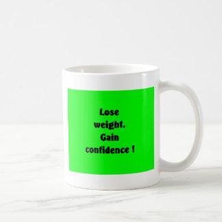 Weight loss basic white mug