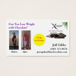 Weight Loss Biz Card