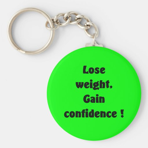 Weight loss keychains