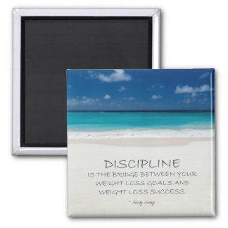 Weight Loss Motivational Magnet: Beach 03 Magnet