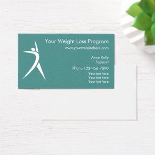 Loss business cards business card printing zazzle weight loss program business card colourmoves Gallery