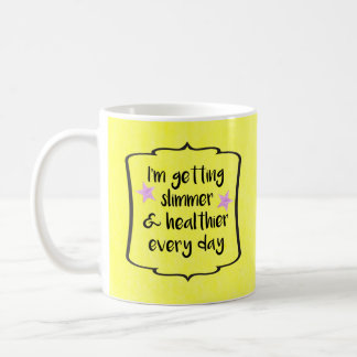 Weight Loss Success Celebration Motivation Quote Coffee Mug