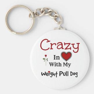 Weight Pull Dog Keychains
