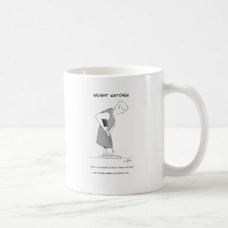 Weight Watcher Basic White Mug
