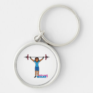 Weightlifter Girl Key Chain