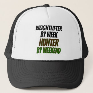 Weightlifter Hunter Trucker Hat
