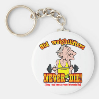 Weightlifters Key Chain