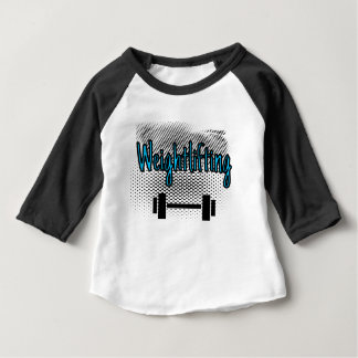 Weightlifting Bar Baby T-Shirt