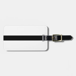 Weightlifting Barbell Luggage Tag