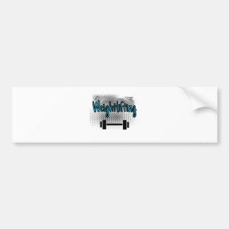 Weightlifting Bumper Sticker
