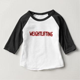 Weightlifting Design Baby T-Shirt