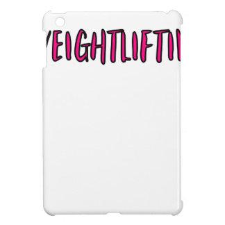 Weightlifting Design iPad Mini Cover