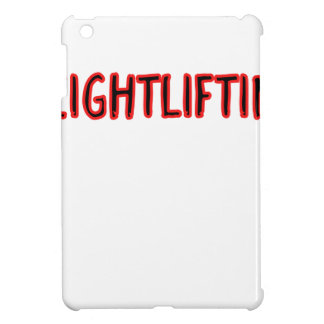 Weightlifting Design iPad Mini Cover