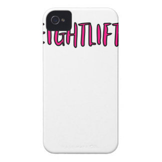 Weightlifting Design iPhone 4 Cover